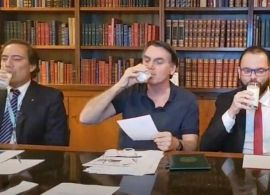 Desafio do leite ganha destaque e envolve políticos de alta patente