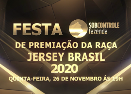 A JERSEY BRASIL® promoverá neste ano de 2020 a sua festa anual de premiação de forma virtual e ao vivo!